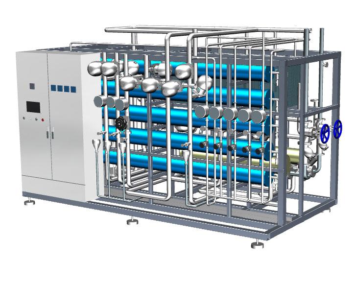 医药行业纯化水设备系统设计特点