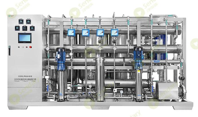 化妆品行业用纯化水设备的工作原理