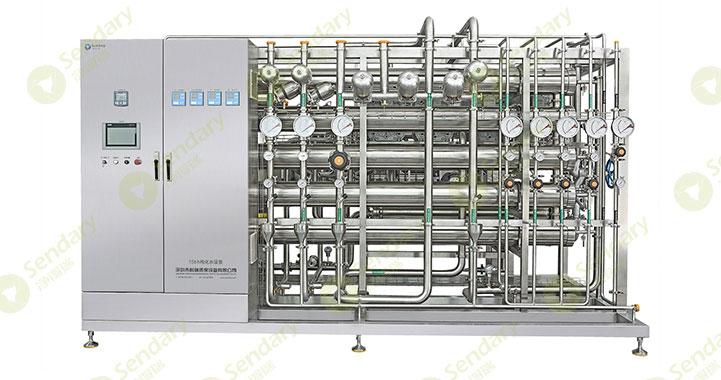 """纯化水的制备:将原水通过各种""""净化""""工艺转化为纯化水"""