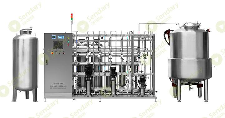 纯化水制备系统的组成有哪些?