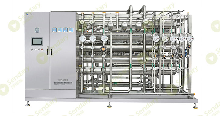 制药行业纯化水设备对各个组成部件的要求